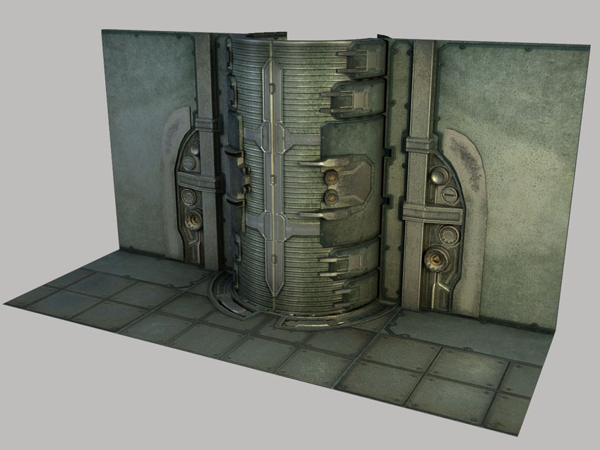 The Vault. Based on pencil concept, with added design and features