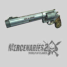 Weapon work for Mercenaries 2: World in Flames